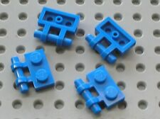 4 x LEGO Blue Plate 1x2 with Handle Ref 2540 Set 8018 70323 70312 70750 9525