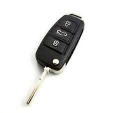 New Flip Remote Key Shell FOB for AUDI A3 A4 A5 A6 A8 Q5 Q7 TT  3 Button