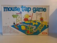 Vintage Mouse Trap Board Game (1963) Ideal - Boxed Missing Red Ball & X2 Dice