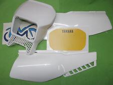- Yamaha xt600 XT 600 2kf 2nf Pagine Rivestimenti coperchio bianco Mascherina fari Sticker