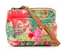 Oilily Cross Body Bag Flower Field Phone / Camera Holder Melon