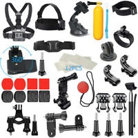 For GoPro Accessories Hero7/6/5/4/3 Bundle Camera Outdoor Sport Case Set 36-in-1