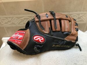 "Rawlings R115FB Youth 11.5"" Renegade Baseball First Base Mitt Right Hand Throw"
