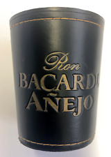 Vintage Bacardi Anejo Liquor Dice Cup shaker casino gambling