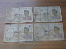 4pcs x 1 Piastre French Indochina (See Photos) #48