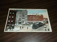 1921 NEW YORK CENTRAL NYC THE EMPIRE STATE EXPRESS SYRACUSE USED POST CARD