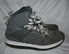 NIKE JORDAN FLIGHT 45 High Max Basketball Shoes 10.5 10 1/2 Gray USED