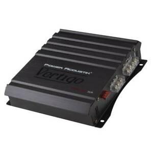 NEW Power Acoustik Vertigo VA2-1400D 1400 Watts 2 Channel Full Range Amplifier