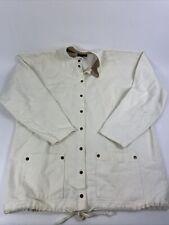 Vintage BonWorth Chef's Fashion Jacket Coat All Button Cotton Vtg Men's Size M