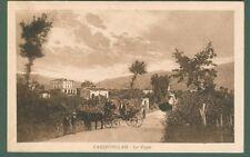 Calabria. CASTROVILLARI, Cosenza. Le Vigne. Cartolina d'epoca viaggiata nel 1927