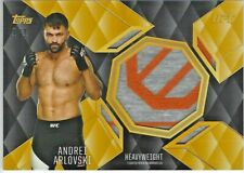 ANDREI ARLOVSKI #1/1 2016 Topps UFC Top of the Class 2 COLOR FIGHT WORN RELIC
