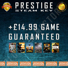 Prestige Premium Random Steam Keys Key Game GAMES (Guaranteed +£14.99 GAME)