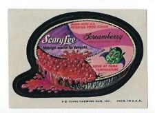 1974 Topps Wacky Packages 8th Series 8 SCARY LEE SCREAMBERRY CHEESE CAKE nm-