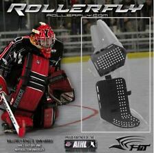 ROLLERFLY Goalie Sliding Plates für Inlinehockey/Skaterhockey (schwarz / black)