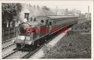 Railway Photo LSWR M7 377 Mortlake 0-4-4T Loco Southern L&SWR