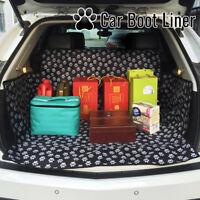 Protecteur doublure coffre botte de voiture couverture siège arrière animal