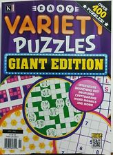 Kappa Easy Variety Puzzles Giant Edition Volume 1 400 Puzzles FREE SHIPPING sb
