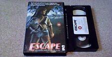 THE WOMEN HUNT aka ESCAPE 1972 UK BIG BOX VHS VIDEO JOHN ASHLEY SID HAIG