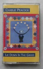 Cassette Tape - Charlie Peacock - Lie Down In The Grass - Christian Rock 1992