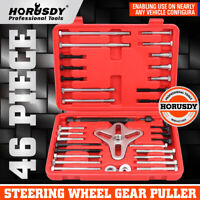 46Pc Harmonic Balancer Gear Puller Steering Wheel Pulley Crank Shaft Removal Set