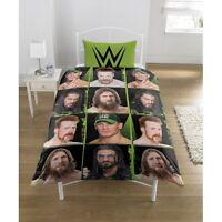 WWE 'Superstars' Rotary Single Bed Duvet Quilt Cover Set Brand New Gift