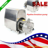 1.5KW Emulsion pump High Shear Stainless Steel 304 Emulsifying Pump TRL1-80 US