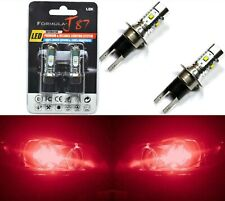 LED 30W H3C 64146BC Red Two Bulbs Fog Light Replacement Show Use Lamp JDM Fit