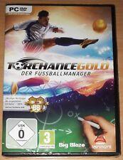 Torchance Gold Der Fussballmanager PC Game (PC DVD) *BRANDNEU* Deutsch