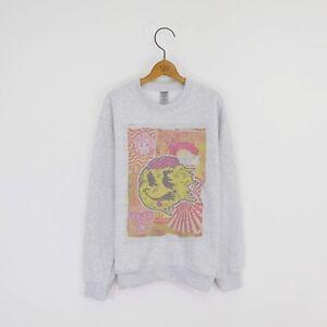 Mens '90s Rave' Crew-neck Festival Sweatshirt