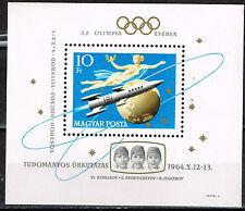 Hungary Space Astronomy Soviet Voskhod 1 Souvenir Sheet 1964 MNH