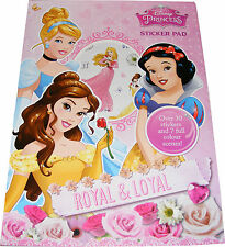 Infantil/ Girls Disney Princess Pegatinas Libro con 30 Stickers - NUEVO