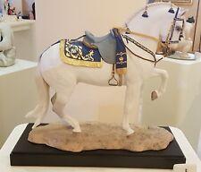 Porcelaine Affiche Cheval Edition Limited. cheval par race pura espagnol
