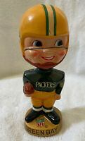 VINTAGE 1960s AFL NFL GREEN BAY PACKERS BOBBLEHEAD NODDER BOBBLE HEAD