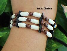 Native American Bracelet w/ Jasper Cherokee made William Lattie Cert of Auth
