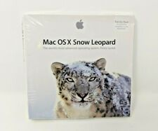 Apple Mac OS X Version 10.6.3 Snow Leopard iLife iWork- Family Pack 5 Licenses
