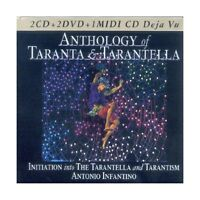 CD ANTHOLOGY OF TARANTA E TARANTELLA-076119510303