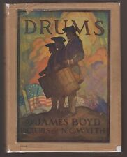 VG 1928 HC RARE DJ Drums James Boyd 14 Color Plates NC Wyeth Scribners Classic