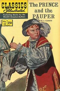 Classics Illustrated #29 - Prince and the Pauper - Gilberton Warehouse Copy