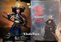 Japanese Female Samurai RIN Black Armor Version 1/6 i8 TOYS i8-001B USA IN STOCK