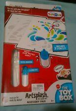 New Artsplash 3D Liquid Art Acessory Pack - Includes 3 Stencils - The Toy Box