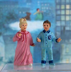 2 figurine Nicolas et Pimprenelle  1995. Papo
