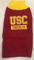 Pets First College USC Trojans Dog Sweater - Multiple Sizes - Ships Free