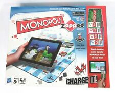 Monopoly Brand Board Game Zapped Edition Game Board digital tablet
