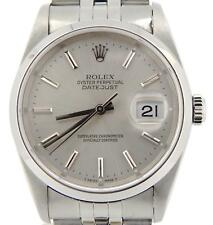 Rolex Datejust Men Stainless Steel Oyster Perpetual Sapphire Crystal Watch 16200