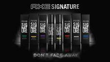 8 Flavors Axe Signature Men Body Perfume Spray Sensual Fragrance 122ml Each