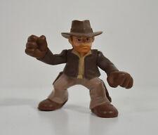 """2008 Indiana Jones w/ Hat & Gloves 2.25"""" Hasbro Adventure Heroes Action Figure"""