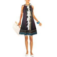 LAVAND Luftiges Sommer Kleid Strandkleid Rückenausschnitt A-Linie NEU Gr.36 38