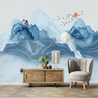 Back Nice Hill Line 3D Full Wall Mural Photo Wallpaper Printing Home Kids Decor