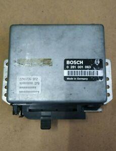 BMW E30 E34 324td 524td engine control unit ECU 0281001063 @Great@ Bosch
