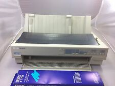 EPSON LQ-1070 PRINTER COMPLETE WITH VERY LIGHT USE